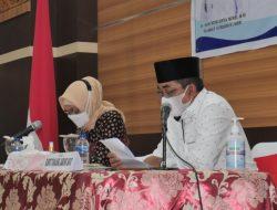 PJ Gubernur Jambi Kunker Ke Tanjab Barat Dalam Rangka Rapat Penanganan Covid-19