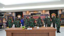 Danlantamal IV Ikuti Acara Pembukaan Gladi Posko, Latihan Armada Jaya XXXIX Tahun 2021