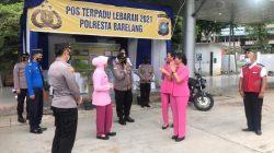 Ketua Bhayangkari Cabang Polresta Barelang Bersama Ranting KKP Batam Berikan Tali Asih Kepada Personil