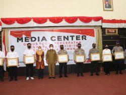 Polres Karimun Terima Penghargaan Dari Pemerintah Provinsi Kepri