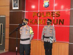 Rotasi Jabatan, Kapolres Pimpin Sertijab Wakapolres Karimun