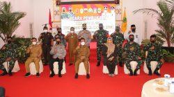 Danlantamal IV Hadiri Acara Pembukaan TMMD Ke -111 di Gedung Nasional Dabo Singkep